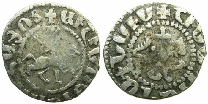 Ancient Coins - ARMENIA.Oshin AD 1308-1320.AR.Takvorin.Mint of SIS.Sigla Y.