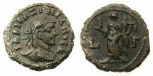 Ancient Coins - EGYPT.ALEXANDRIA.Maximianus Gallerius AD 293-311, as Caesar AD 293-305.Billon Tetradrachm, struck AD294/5. ~#~.Homonia standing.