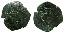Ancient Coins - BYZANTINE EMPIRE.Michael VIII AD 1258/9-82.AE.Trachy.Class XXVII.Mint of Constantinople.