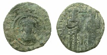 Ancient Coins - BYZANTINE EMPIRE.Andronicus II and Michael IX AD 1295-1320.AE.Assarion.Mint of Constantinople.