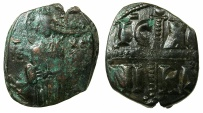 Ancient Coins - BYZANTINE EMPIRE.Anonymous Follis.class C.Mint of CONSTANTINOPLE. ~~~ Christ Antiphonetes