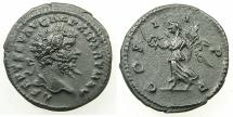 Ancient Coins - ROMAN.Septimius Severus AD 193-211.AR.Denarius, struck AD 198-200.Mint of LAODICEA.~#~.Victory walking left.