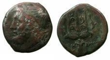 Ancient Coins - SICILY.Syracuse.Hieron II 274-216 BC.AE.22.2mm