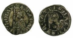 World Coins - ITALY.VENICE.Francesco Dandolo AD 1329-1339.AR.Soldino.
