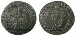 World Coins - ITALY.VENICE.Nicolo da Ponte AD 1578-1585.AR.Quarto di Scudo ( 2 Lira ).N.D.