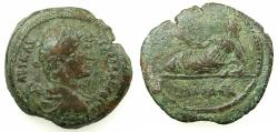 Ancient Coins - EGYPT.ALEXANDRIA.Hadrian AD 117-138.AE Hemi drachma, struck AD 127/28.#  Euthenia, the spouse of Nilus,