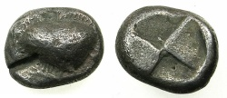 Ancient Coins - PAPHLAGONIA.SINOPE. circa 490-425 BC.AR.Drachma.