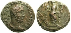 Ancient Coins - EGYPT.ALEXANDRIA.Gallienus AD 253-268.Billon Tetradrachm.Regnal year 11 AD 263-264 ~~~ Regnal year retrograde ~~~