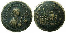 Ancient Coins - ROME.Numerian AD 283-284.AE. Medallion,'Paduan' cast after the Roman original.