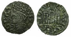 World Coins - SPAIN.CASTILE-LEON, kingdom.Alfonso XI AD1312-1350.Billon.Coronado. Mint of LEON