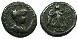 Ancient Coins - EGYPT.ALEXANDRIA.Severus Alexander 222-235 AD.Billon Tetradrachm, struck 222/23 AD. ~#~.Nike walking right