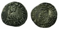 World Coins - ITALY.VENICE.Francesco Dandolo AD 1329-1339.AR.Soldino. ***Ex Slocum coll.***