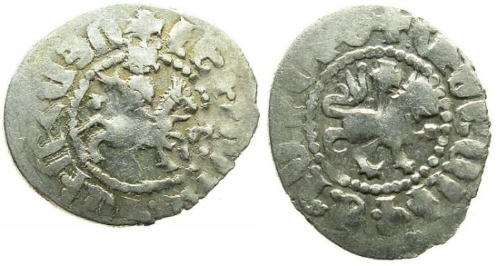 Ancient Coins - ARMENIA.Levon IV 1320-1342.AR.Takvorin.Mint of SIS.Sigla J-M.