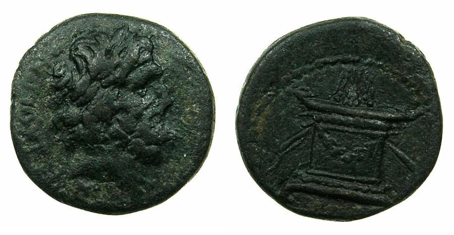 Ancient Coins - SYRIA.ANTIOCH.Pseudo Autonomous ( struck under Galba and Otho ).AE.19mm.struck AD 68-9.