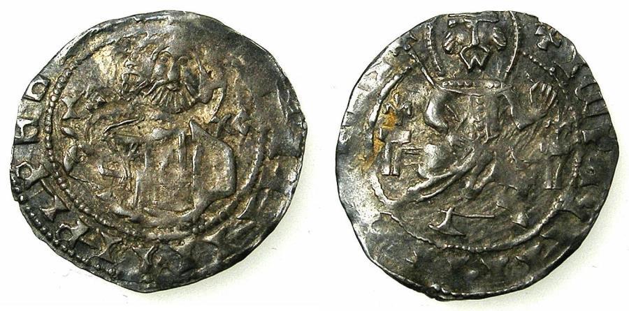 World Coins - BULGARIA.John Stracimar AD 1360-1396.AR.Grosch, reduced weight.