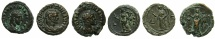 Ancient Coins - EGYPT.ALEXANDRIA.Maximianus Heraclius AD 286-305.Three x Billon Tetradrachms, struck AD 287/288.~#~.Three varients of same date and type, Omonia..