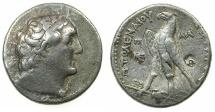 Ancient Coins - PTOLEMAIC EMPIRE.PHOENICIA.PTOLEMAIS MINT.Ptolemy II Philadelphus 285-246 BC.AR.Tetradrachma.struck 255/54 BC.