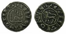 World Coins - SPAIN.Alfonso X El Sabio AD 1252-1284.Billon Pepion.Mint of MURCIA.
