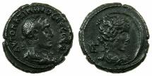 Ancient Coins - EGYPT.ALEXANDRIA.Maximinus Thrax AD 235-238.Billon Tetradrachm, struck AD 236/37. ~#~.Bust of Selene.