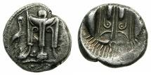 Ancient Coins - BRUTTIUM.KROTON.circa 480-430BC.AR.Nomos ( didrachm ).