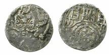 World Coins - OSNABRUCK.Dietrich V Horne AD 1376-1402.AR.Pfenning.