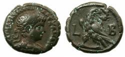 Ancient Coins - EGYPT.ALEXANDRIA.Severus Alexander 222-235 AD.Billon Tetradrachm, struck 222/23 AD. ****ROMES YOUNGEST EMPEROR ****