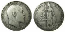 World Coins - ENGLAND.Edward VII 1901-1910.AR.Florin.1905. ****KEY DATE***