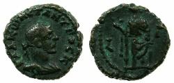 Ancient Coins - EGYPT.ALEXANDRIA.Constantius Chlorus Caesar AD 293-305.Billon Tetradrachm, struck AD 294/95.~#~.Eirene