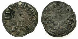World Coins - SPAIN.ARAGON.Sancho Ramirez AD 1063-1094.AR.Dinero.