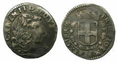World Coins - ITALY.SAVOY.Carlo Emanuele II Duke 1648-1675.AR.Dodicesimo di Scudo.1659.Mint of TURIN.