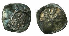 World Coins - AUSTRIA.ENNS. Albrecht I AD 1282-1298.AR.Obol. Panther.