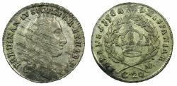 World Coins - ITALY.NAPLES.Ferdinand IV AD 1759-1825.1st period 1759-1799.AR.Tari  ( 20 grana )1798.