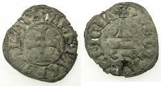 World Coins - CRUSADER STATES.Principality of ACHAIA.Philip of Taranto AD 1307-1313.Bi.Denier.Type 1.