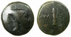 Ancient Coins - PONTUS.AMISOS.Circa 125-100 BC.AE.struck under Mithradates VI 120-63 BC.