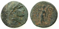 Ancient Coins - SELEUCID EMPIRE.Alexander I Balas 152-145 BC.AE.Mint of ANTIOCH.
