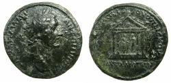 Ancient Coins - THRACE.PAUTALIA.Antoninus Pius AD 138-161.AE. 30.2mm. Lucius Pompei Vopiscus, legate of Thrace. Unpublished? Not recorded in RPC