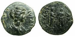 Ancient Coins - SYRIA.COELE SYRIA.HELIOPOLIS.Julia Domna, 2nd wife of Septimius Severus, Augusta AD 193-217.AE.26mm. Reverse. Caracalla and Geta.