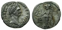 Ancient Coins - EGYPT.ALEXANDRIA.Domitian AD 81-96.Billon Tetradrachm, struck AD 88/89. ~#~.Athena Nikiphorus