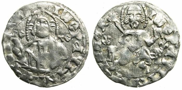 World Coins - BULGARIA.John Stracimar AD 1360-1396.AR.Grosch, heavy issue.
