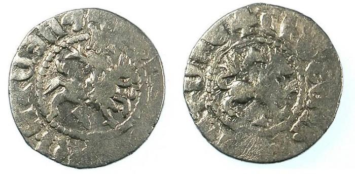 Ancient Coins - ARMENIA.Levon IV 1320-1342.AR.Takvorin.Sigla G-M. Mint of SIS.