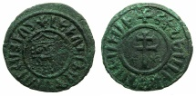 World Coins - ARMENIA, Cilician kingdom. Levon I 1198-1219.AE.Tank.Mint of SIS.