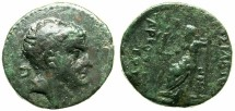 Ancient Coins - CILICIA.Tarkondimotos 39-31 BC.AE.20.Bust.Zeus seated.