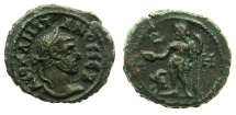 Ancient Coins - EGYPT.ALEXANDRIA.Diocletian AD 284-305.Billon Tetradrachm, struck AD 291/92.~#~.Zeus standing