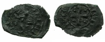 World Coins - CRUSADER STATES.CYPRUS.Peter I AD 1359-1369.Billon Denier. ****Ex.Slocum collection.