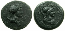 Ancient Coins - CILICIA.SELEUKEIA.AE.2nd-1st Cent BC.AE.25.8mm.Demetrios Magistrate.