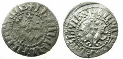 World Coins - CILICIAN ARMENIA.Levon I AD 1198-1219.AR.Tram. Class IV.