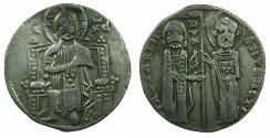 World Coins - ITALY.VENICE.Iacopo Contarini AD 1275-1280.AR.Grosso.