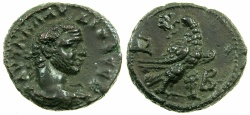 Ancient Coins - EGYPT.ALEXANDRIA.Claudius II Gothicus AD 268-270.Billon Tetradrachm.Struck AD 269/70.~~~Unusal bust of Gothicus.
