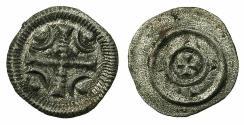 World Coins - HUNGARY.Stephen II AD 1116-1131.AR.Dinar.