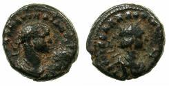 Ancient Coins - EGYPT.ALEXANDRIA.Aurelian and Vaballathus AD 270-271 .Bi.Tetradrachm.AD 270.